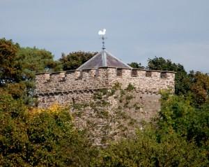 Merthyr Cynog Church Tower